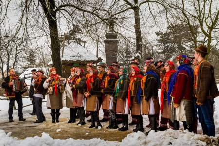 Seventh Ethnic Festival Christmas Carols in the old village
