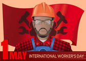 International Workers Day design 1 May