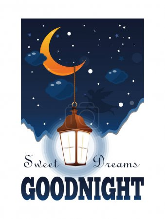 Goodnight poster. Sweet Dreams