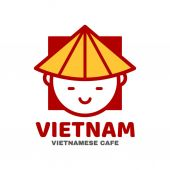 Vietnam logo template design Vector