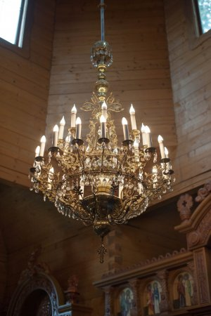 Nice beautiful chandelier