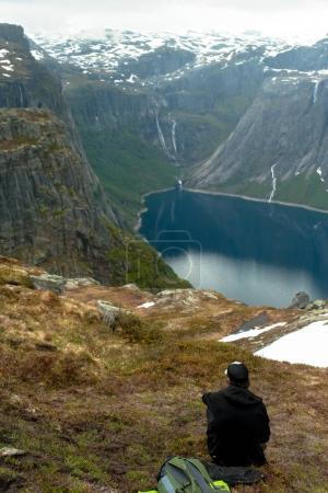 Trolltunga in Norway is fabulous beauty