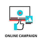 Concept of online compaign