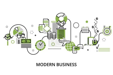 Concept of modern business process