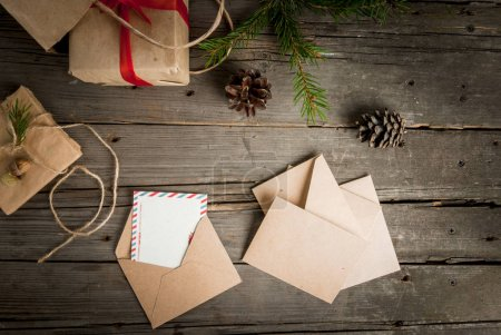 Christmas gifts and letters