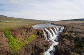 Kolufossar waterfall in North Iceland