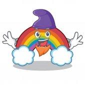 Elf colorful rainbow character cartoon