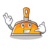 Call me dustpan character cartoon style
