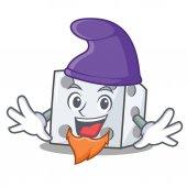 Elf dice character cartoon style