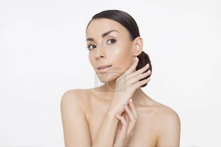 Skin care concept. Beauty and spa for body and fac...