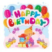 Šablona pro přání k narozeninám