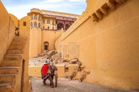Jaipur, Rajasthan, India, December 11,2017: Touris...