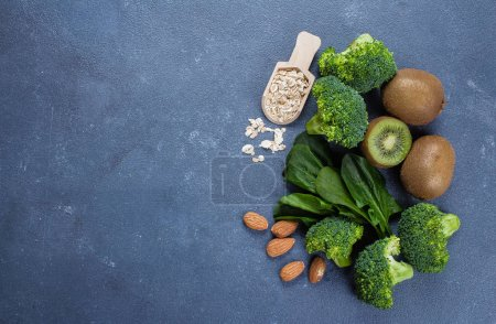 Ingredients for Healthy Green Smoothie