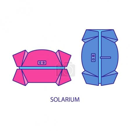 set of types of solariums