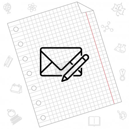 Write message web icon