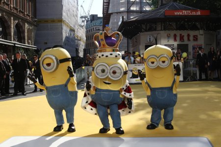 Minions characters at Minions World