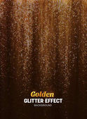 Magic Glitter Background in gold Color Poster Backdrop with Shine Elements