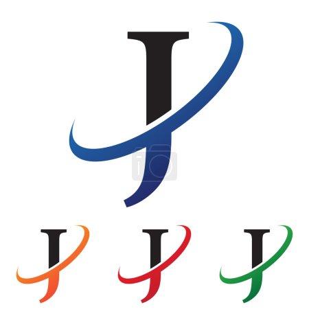 initial letter swoosh