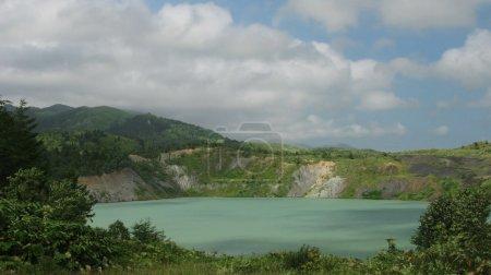 Flooded coal mine