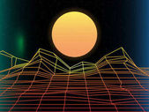 Постер Солнце ярко синтипоп свет