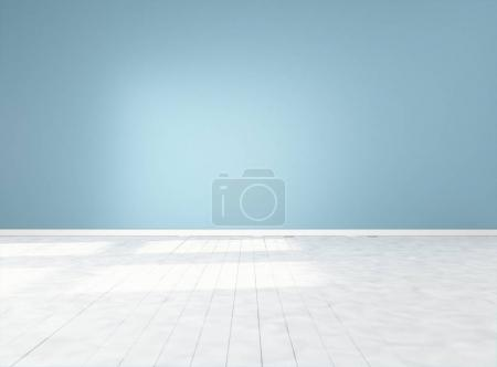 Empty room render