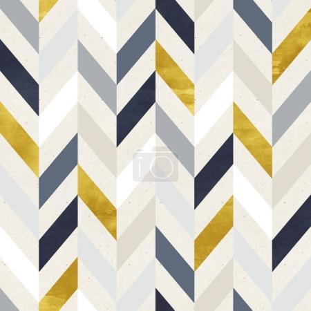 Photo pour Motif géométrique coloré sans couture sur la texture du papier - image libre de droit
