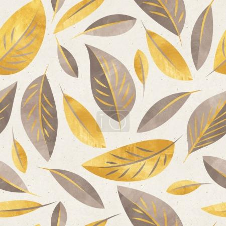 pattern with fall flowers