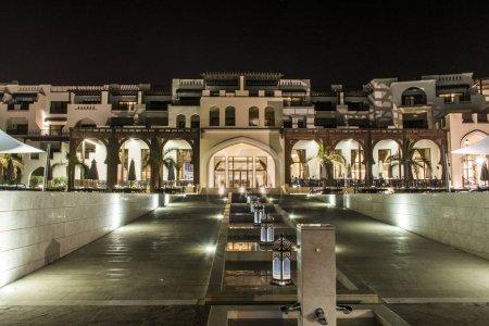 Oman, Salalah, 19.10.2016 -Amazing night lights Hotel Al Fanar Souly Bay Hotels Oceanside