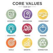 Core Values Round MultiColored