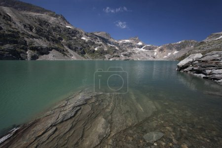 Glacier lake in Austra