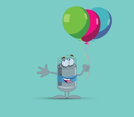 Water Tank Character Design