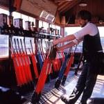 BRIDGNORTH, UNITED KINGDOM - JUNE 13, 1993 - Signa...