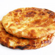 The newest and most beautiful bread, pide, greasy,...
