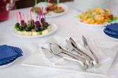 catering service equipment - metal tongs