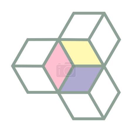 Isometric Boxes Logo