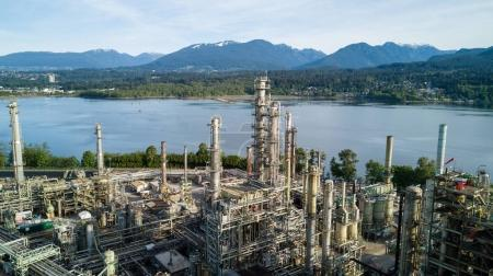Oil Refinery Plant in Vancouver