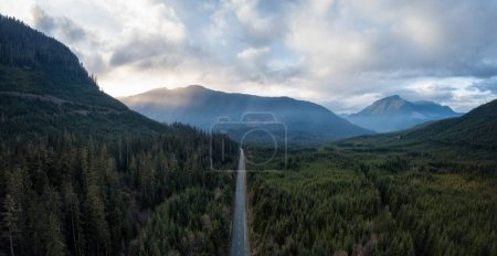 Scenic Route Aerial View