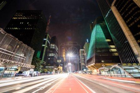 Paulista Avenue, Sao Paulo, Brazil...