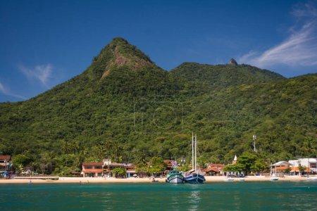 boats in ocean, Costa Verde
