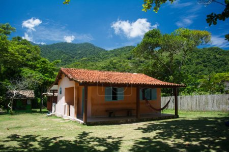 house at Sono beach in Brazil