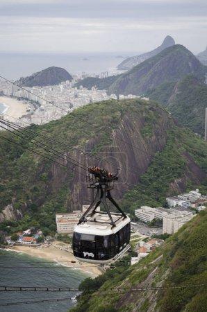 Cabble car in Rio de Janeiro
