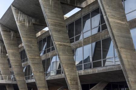 Modern architecture,museum of modern art in Aterro do Flamengo (Flamengo Landfill)
