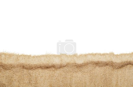 Top view closeup of beach or sand pattern texture....