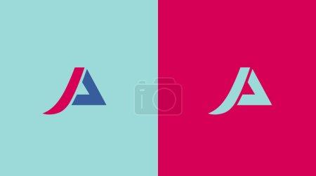 A letter logos symbols