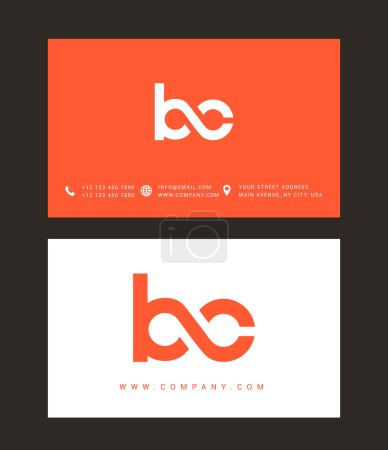 B and C Letters Logo