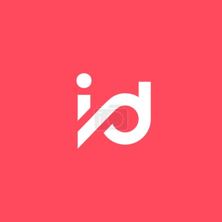 I and D Letters Logo