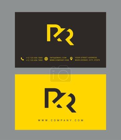 Lettre R & R Logo Icône