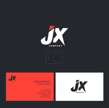 J & X Letter Logo