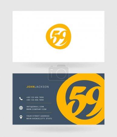 59 Number Logo