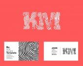 KM Letters Company Logo